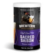 Sacred Saison - Homebrew Craft Beer Mix for 15 L / 507 fl.oz-Beer Kit-Brewferm