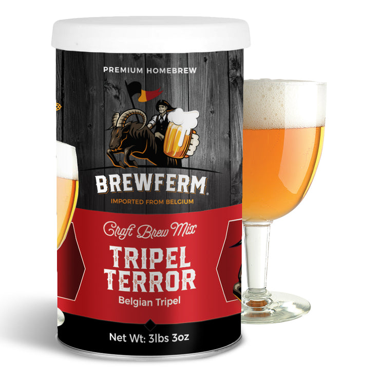 Tripel Terror - Homebrew Craft Beer Mix 9 L / 2.5 gal