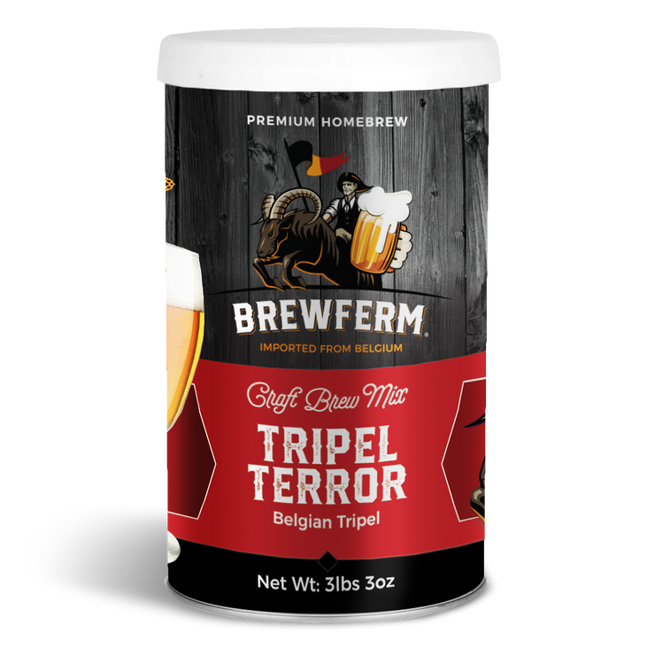 Tripel Terror - Homebrew Craft Beer Mix 9 L / 304 fl.oz-Beer Kit-Brewferm