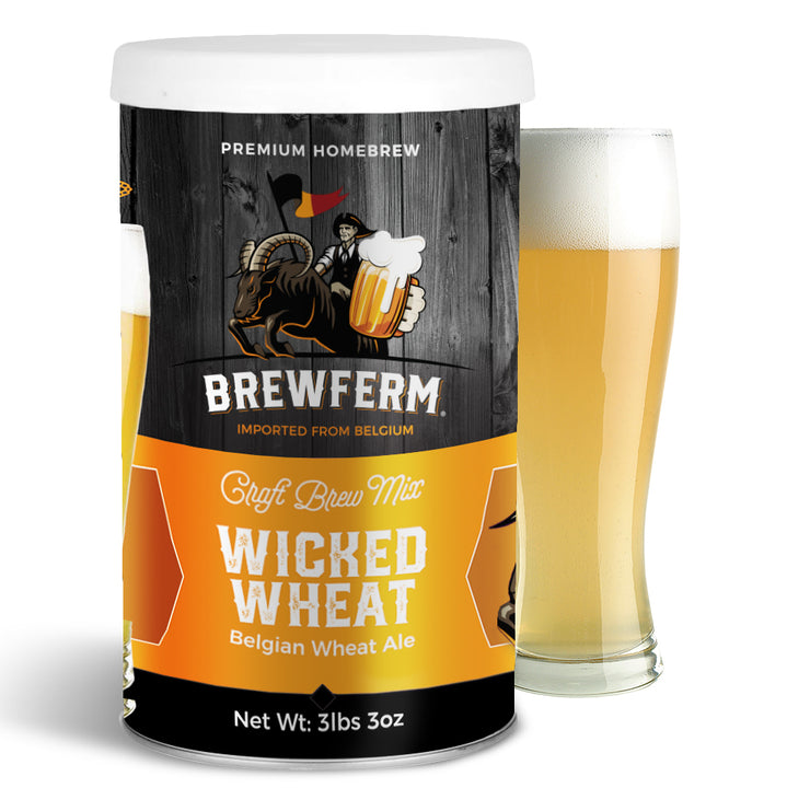 Wicked Wheat - Homebrew Craft Beer Mix 15 L / 4 gal