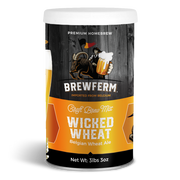 Wicked Wheat - Homebrew Craft Beer Mix 15 L / 507 fl.oz-Beer Kit-Brewferm