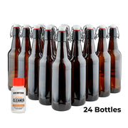 Fliptop Bottling Kit (17 oz) - Bottles, Fliptops, and Cleaning Agent-Kits-Brewferm