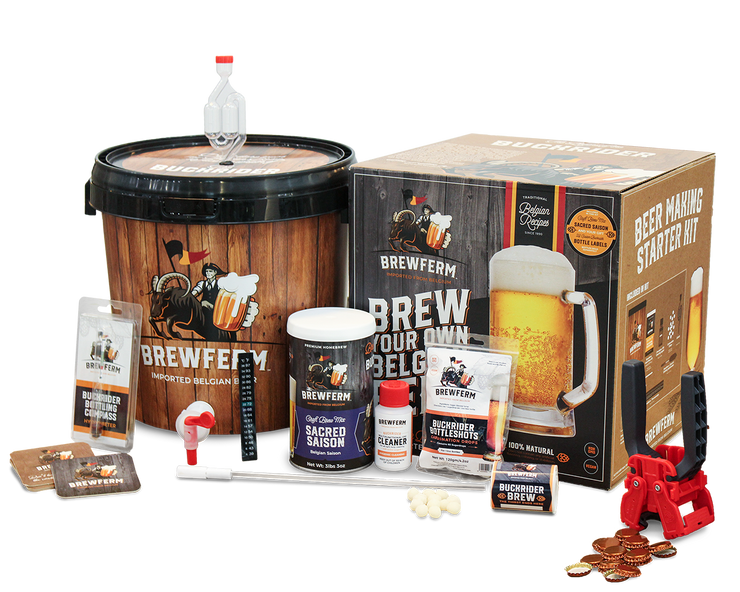 Wholesale Homebrew Deluxe Kit (with Caps and Capper) - 1 Brewkit