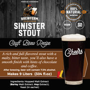 Wholesale Sinister Stout - Case Pack 6 Count
