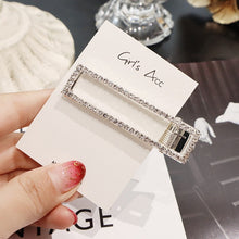 Load image into Gallery viewer, 2019 New Fashion Shiny  Rhinestone Crystal Pearl Hair Clip Hairpins