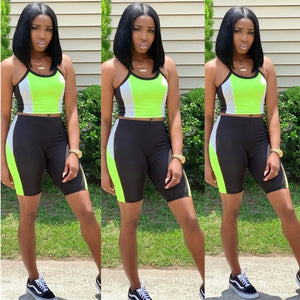 Shorts Sweat Suit 2 Piece Matching Set