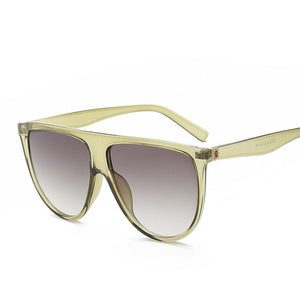 Flat Top Oversized Sunglasses