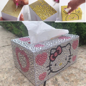 5d Diamond painting DIY Accessories Special shape tissue box