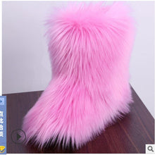 Load image into Gallery viewer, Furry Snow Boots