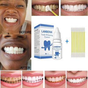 LANBENA Teeth Whitening Essence Powder Oral Hygiene Cleaning Serum