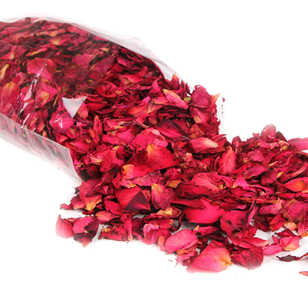 Romantic 30/50/100g Natural Dried Rose Petals Bath Dry Flower Petal Spa Whitening Shower Aromatherapy