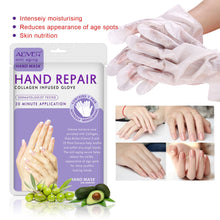 Load image into Gallery viewer, 2pcs/Pair Moisturizing Soft Hand Mask Hyaluronic Dead Skin Remover