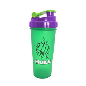 Super Heroes Shaker Bottle Sports Whey Protein Powder Mixing Bottle With Stirring Ball itness Water Bottle BPA Free