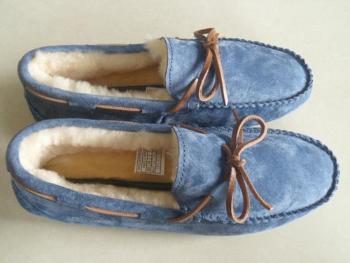 11 12 13 Size Plush Slide In Loafers