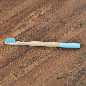 5 pack Adult Bamboo Toothbrushes Soft Bristles eco friendly