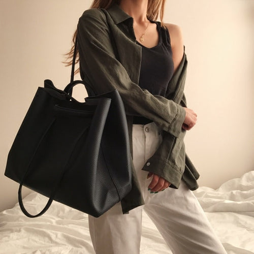PU Leather Woman Shoulder Bag