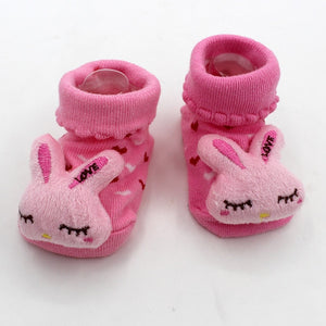 Excellent Quality Funny Happy Socks Newborn Rubber Anti Slip Socks