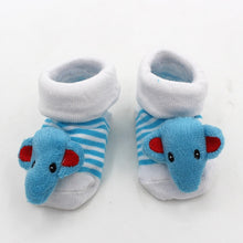 Load image into Gallery viewer, Excellent Quality Funny Happy Socks Newborn Rubber Anti Slip Socks