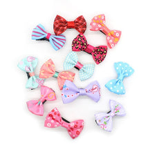 Load image into Gallery viewer, 10Pcs/lot Hot Candy Color Bow Hairpin