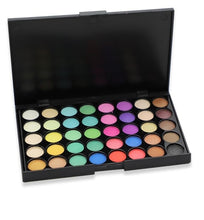 Load image into Gallery viewer, 2019 New women's fashion Beauty 40 Colors Cosmetic Powder Eyeshadow Palette Makeup Set