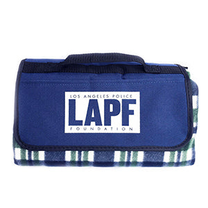 Picnic Blanket with Built-in Carrying Case