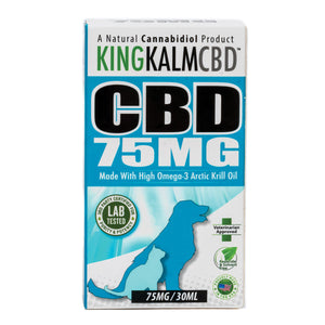 King Kalm Hemp (canine)-75mg