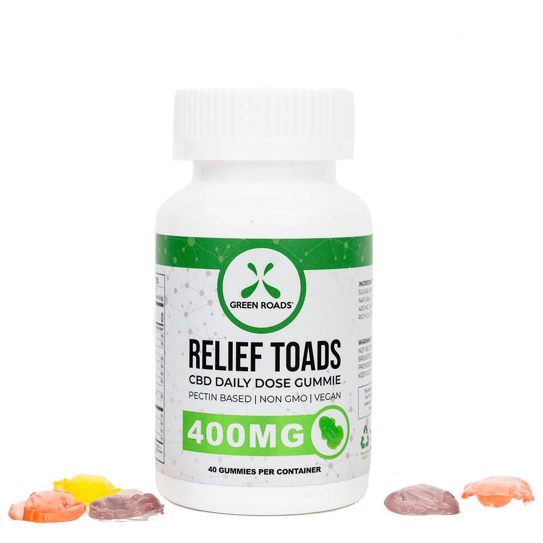 400mg Relief Toads (40 day)