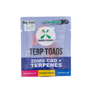 20mg Hemp + Terpenes Terp Toads