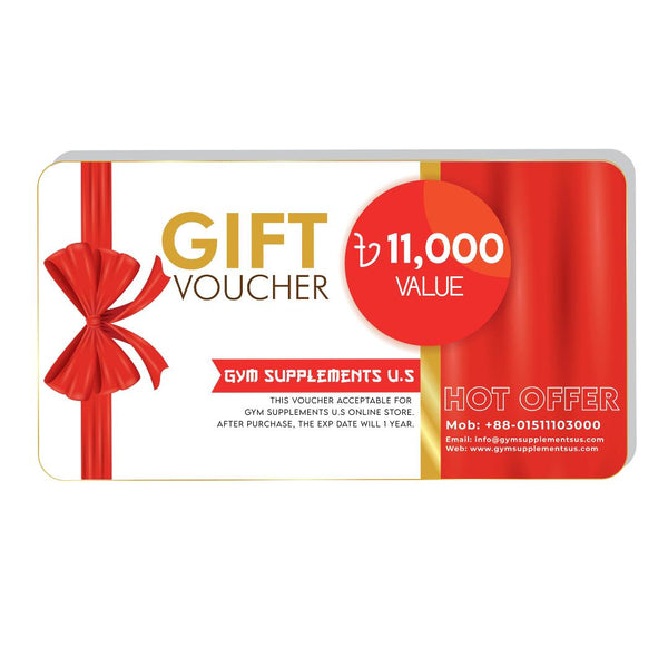 VOUCHER - GIFT CARD | GYM SUPPLEMENTS U.S