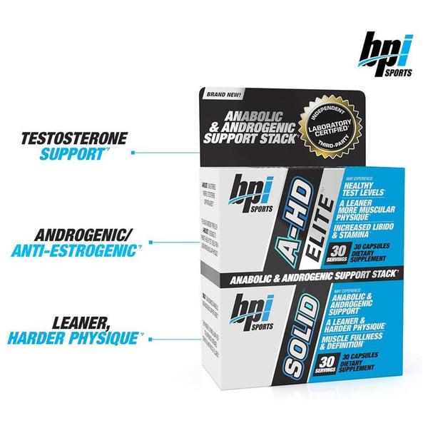 BPI A-HD ELITE™ / SOLID™ | BPI SPORTS | GYMSUPPLEMENTSUS.COM