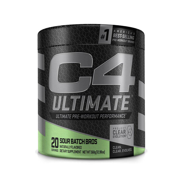 C4 ULTIMATE - 20 SERVINGS | SOUR BATCH BROS | GYM SUPPLEMENTS U.S