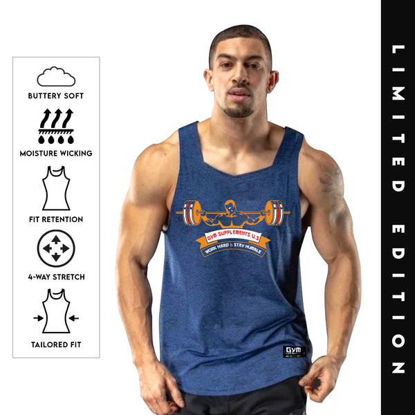 CORE SERIES TANK | GYM SUPPLEMENTS U.S