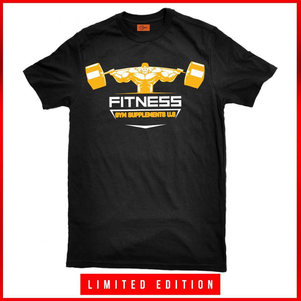 FITNESS T-SHIRT | GYMSUPPLEMENTSUS.COM | GYM SUPPLEMENTS U.S