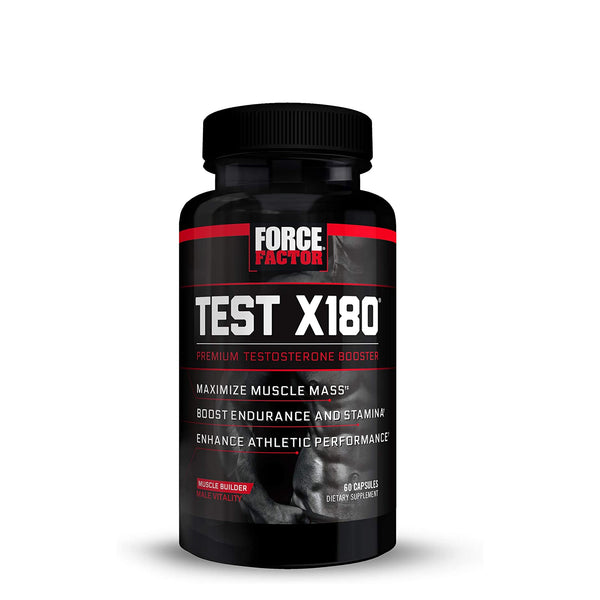 FORCE FACTOR® TEST X180 | 60 CAPSULES | GYM SUPPLEMENTS U.S