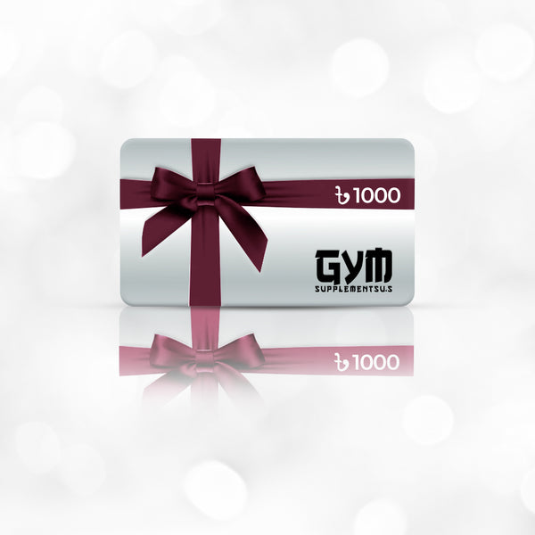GIFT CARD - 1000 TK | GYM SUPPLEMENTS U.S