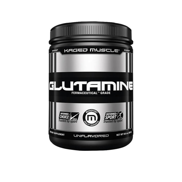KAGED MUSCLE | L-GLUTAMINE -60 SERVINGS | GYM SUPPLEMENTS U.S