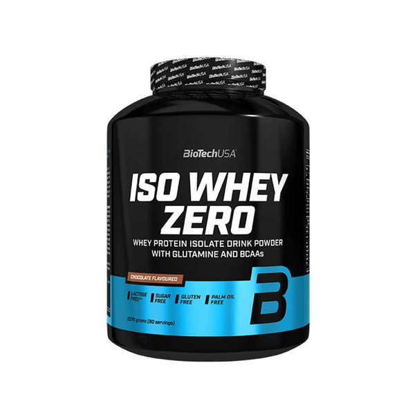 5 LBS-ISO WHEY ZERO |  CHOCOLATE FLAVOR | GYM SUPPLEMENTS U.S