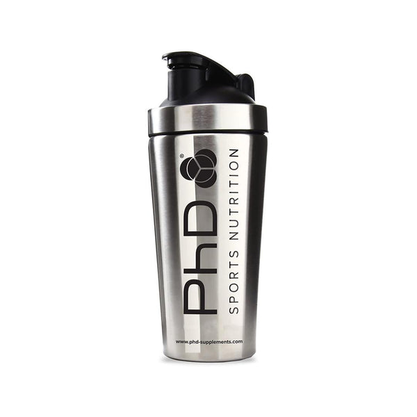 PHD NUTRITION | STAINLESS STEEL SHAKER -| GYM SUPPLEMENTS U.S
