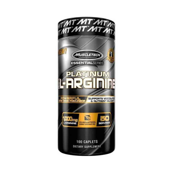 PLATINUM L-ARGININE | 100 CAPLETS | GYM SUPPLEMENTS U.S