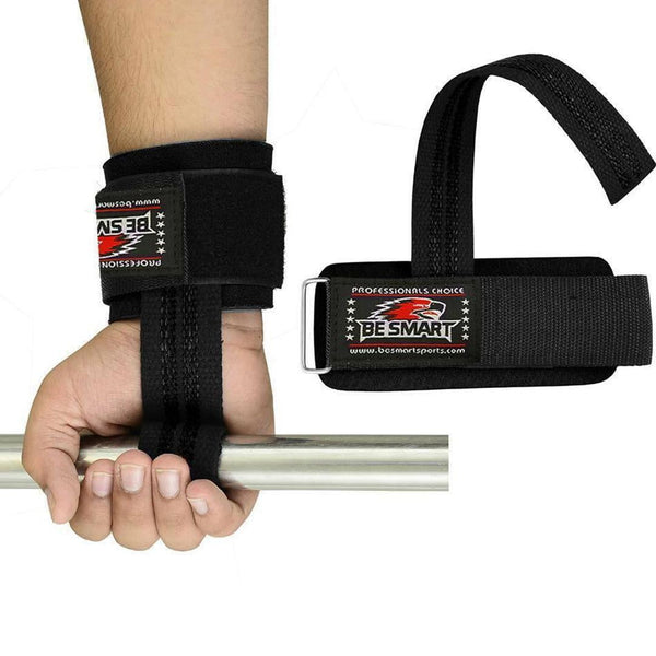 WEIGHT LIFTING TRAINING GYM STRAPS - GYM SUPPLEMENTS U.S