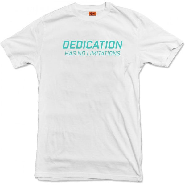 DEDICATION SERIES T-SHIRT GREEN - GYM SUPPLEMENTS U.S