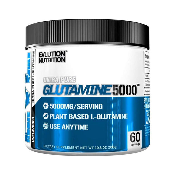 EVL GLUTAMINE 5000 | 60 SERVINGS | UNFLAVOR | GYM SUPPLEMENTS U.S | GYMSUPPLEMENTSUS.COM