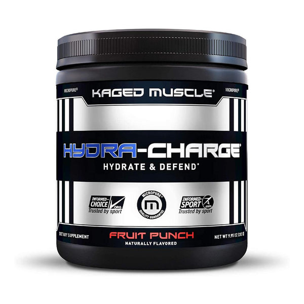 KAGED MUSCLE | HYDRA CHARGE - 60 SERVINGS | FRUIT PUNCH FLAVOR | GYM SUPPLEMENTS U.S