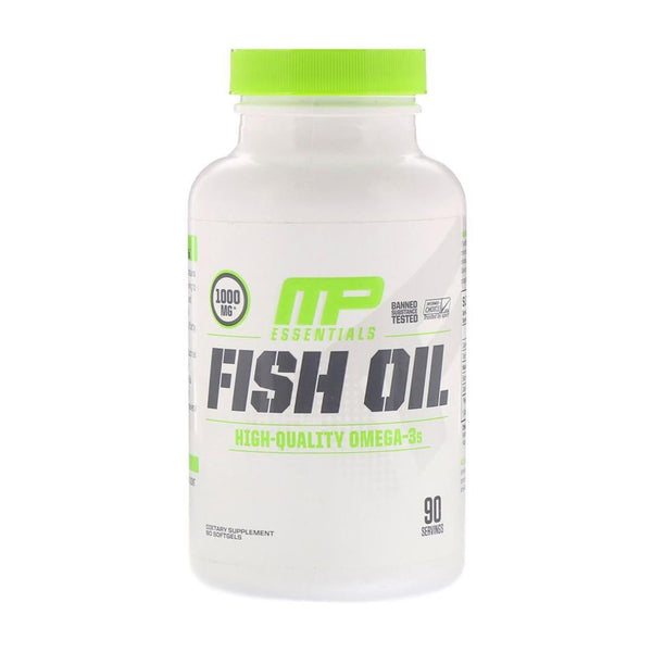 FISH OIL 90 SOFTGELS | MUSCLE PHARM (MP) | GYM SUPPLEMENTS U.S | GYMSUPPLEMENTSUS.COM