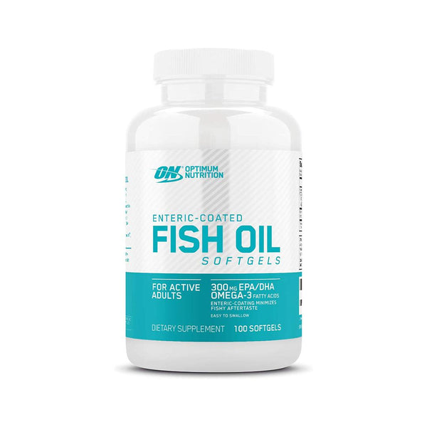 OPTIMUM NUTRITION - FISH OIL 100 SOFTGELS | GYM SUPPLEMENTS U.S