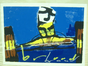 Herman Brood   Racewagen  (zeefdruk los)