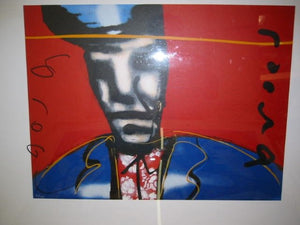 Herman Brood    Little Richard  (Zeefdruk los)