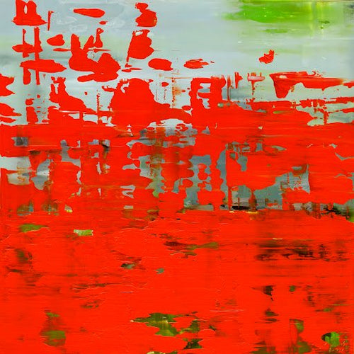 Leo Jacobs, Abstract Red