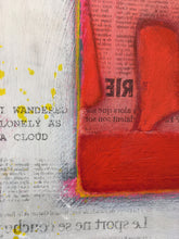 Load image into Gallery viewer, Frank Slabbinck, Schilderij, I wandered lonely as a cloud ...