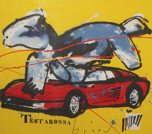 Herman Brood, Testarossa, zeefdruk